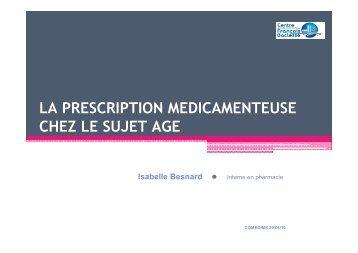 EPP prescription médicamenteuse chez sujet âgé - omedit-basse ...