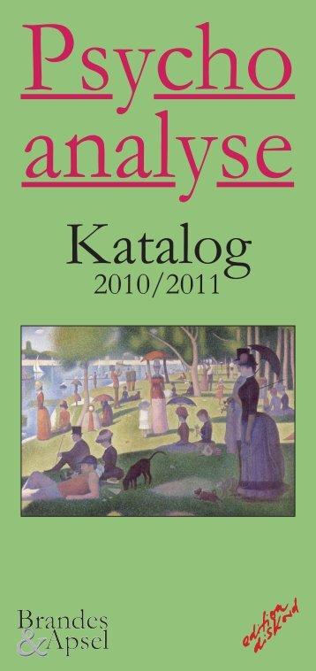 Katalog - Brandes & Apsel Verlag