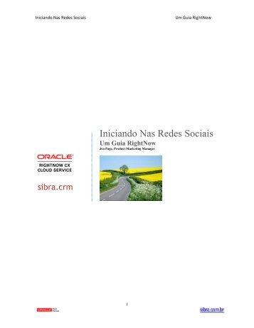 Iniciando Nas Redes Sociais - Sibra.com.br
