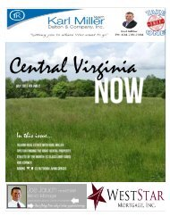 Central Virginia NOW Magazine July 2015