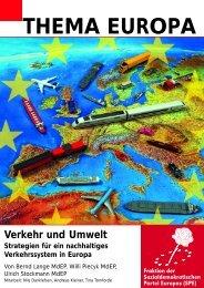 Thema Europa: Umwelt und Verkehr