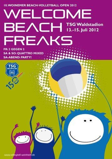 Welcome BeacH Freaks