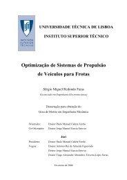 Optimização de Sistemas de Propulsão de Veículos para Frotas