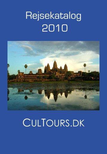 Rejsekatalog 2010 - Cultours