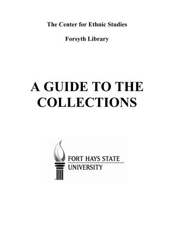 The Center for Ethnic Studies - Fort Hays State University