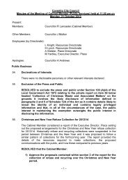 Minutes - 21st October, 2013 , item 3a PDF 27 KB - Meetings ...
