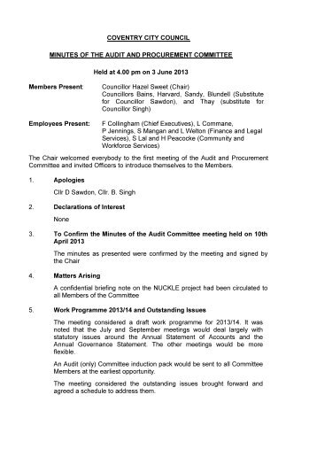 notes of previous meeting and matters arising pdf 35 kb agendas