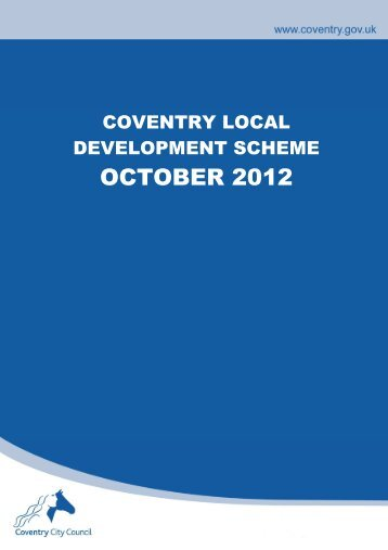 Appendix 1 LDS - Coventry City Council