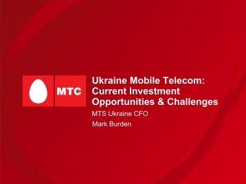 4th Annual Ukrainian Investment Summit - Mobile TeleSystems