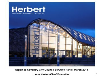 Coventry Heritage & Arts Trust - Coventry City Council