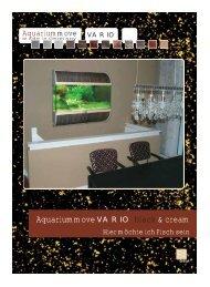 Eine Wandkonsole - 4 Beckenhöhen möglich! - Preis Aquaristik