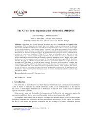 The ICT use in the implementation of Directive 2011/24/EU