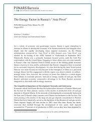 View the Policy Memo (PDF) - PONARS Eurasia