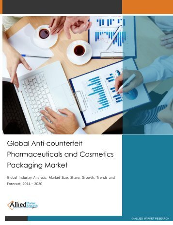 Global Anti-counterfeit Pharmaceuticals and Cosmetics Packaging Market
