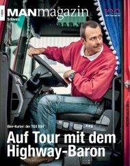 MANmagazin Truck Schweiz 1/2015