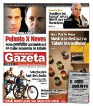 Cartas - Gazeta Niteroiense