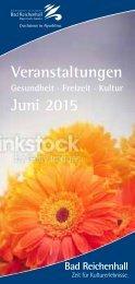 Veranstaltungen Juni 2015