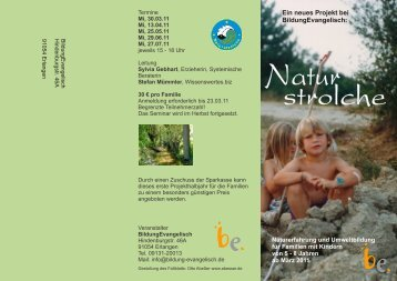 Flyer - Naturstrolche