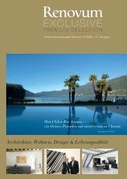 Architektur, Wohnen, Design & Lebensqualität