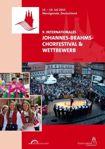 Wernigerode 2015 - Program Book