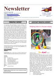 13 September Newsletter 2012 - Timboon P-12 School Website