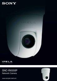 SNC-RX550P - Network Webcams