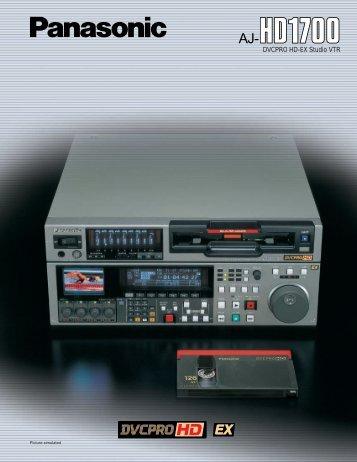AJ HD1700.pdf - BroadcastStore.com
