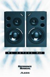 Alesis M1 Active Manual