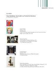 Neue Realitäten: FotoGrafik von Warhol bis Havekost - Galerie Stihl ...