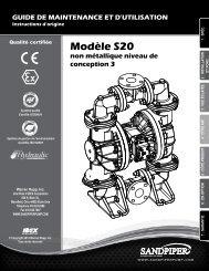 Modèle S20 non métallique niveau de conception 3