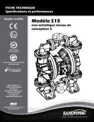 Modèle S15 non métallique niveau de conception 3