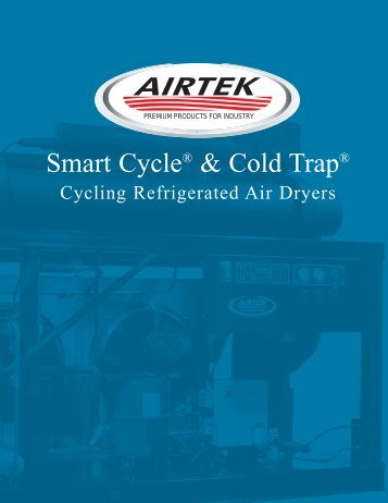 Airtek - Cycling Refrigerated Air Dryers Smart Cycle & Cold Trap ...