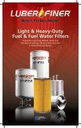 Light & Heavy-Duty Fuel & Fuel Water Filters - Luber-finer