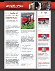 U.S. Biodiesel Production Hits Record Highs - Luber-finer