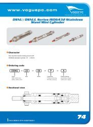 DSNU / DSNUL Series ISO6432 Stainless Steel Mini Cylinder
