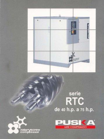 Compresor de Tornillo RTC 40 a 75 HP - remco srl