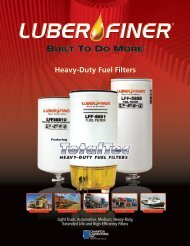 Heavy-Duty Fuel Filters - Luber-finer, Built To Do More