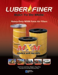 Heavy-Duty MXM Force Air Filters - Luber-finer