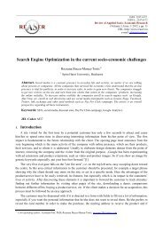 Paper Template for ISCCC 2009 - Review of Applied Socio ...