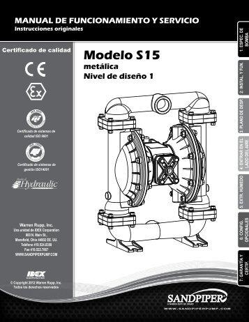 Modelo S15 metálica Nivel de diseño 1