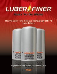 Time Release Technology (TRT ™ ) - Luber-finer