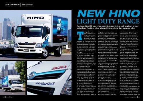 The Light Duty Truck Hino