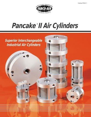 Pancake ®II Air Cylinders