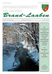 GEMEINDEZEITUNG - 28 - Dezember 2003 (3,2 MB) - Brand-Laaben
