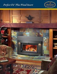 Perfect-Fit™ Plus Wood Insert - Turn Your Old Inefficient - The Firebird