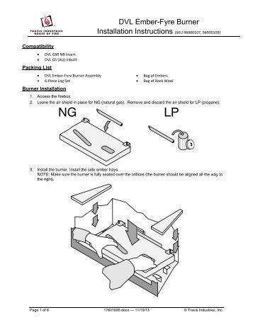 Fyre-Stones Set â Bâ (31 DVI / DVS GSR) Installation