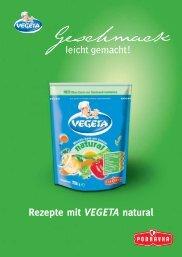 Rezepte mit VEGETA natural - Food-Xperts