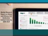 Market Research Report on Global and Chinese SCR Denitration Catalyst Industry, 2009-2019