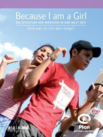 Because I am a Girl - Biaag.de