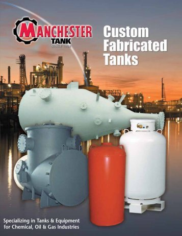 Custom Fabricated Chemical and Industrial ... - Manchester Tank
